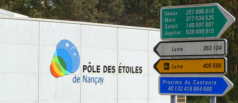 Pôle des Étoiles de Nançay ©Ad2T - V. Laebens