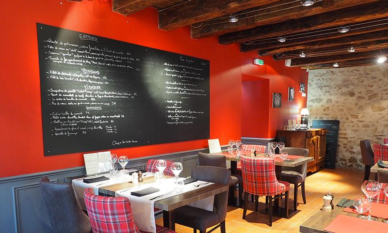 Restaurant le Salignon à Vesdun ©Ad2T - F. Piederriere