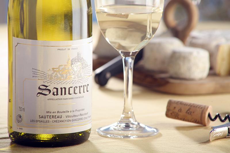 Sancerre et Chavignol, l'accord parfait ©Studio Pixel