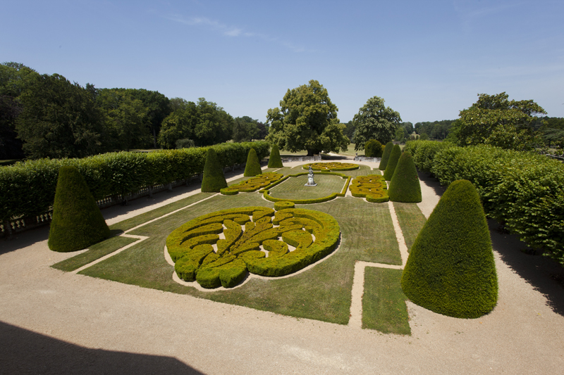 Jardin à la française - © Hellio et Van Ingen