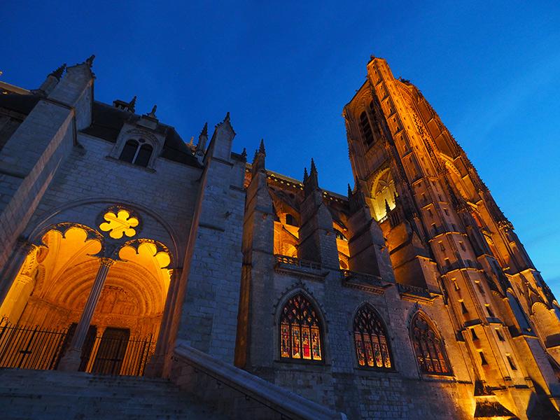 Nuits lumières de Bourges // Cathédrale de Bourges ©Ad2T - V. Laebens