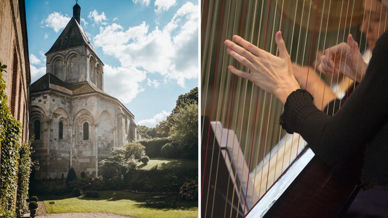 Festival de harpe, Gargilesse © Carnets de Traverse / Hellio et Van Ingen