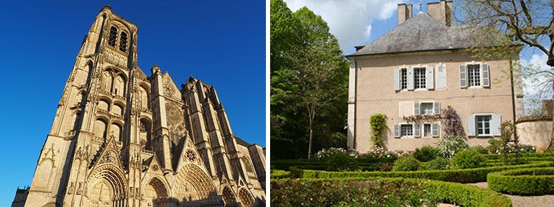 Visitez la cathédrale de Bourges et Maison de George Sand