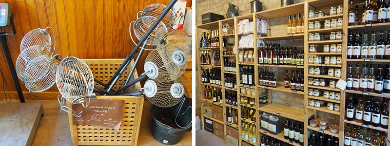 Vente directe à la boutique ©Ad2T - V. Laebens