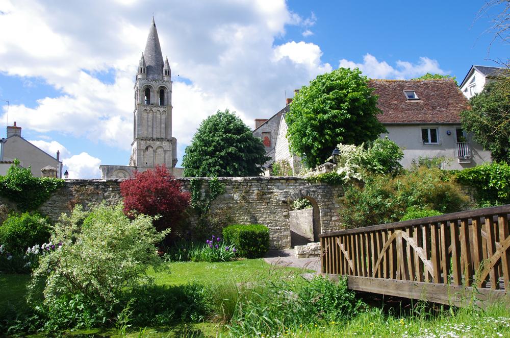 Abbaye de Déols - © JM Surand