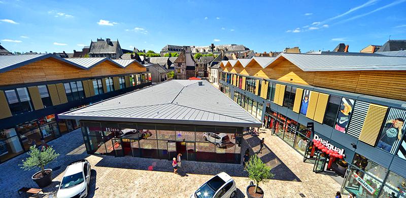 Centre Commercial Avaricum à Bourges ©CC Avaricum