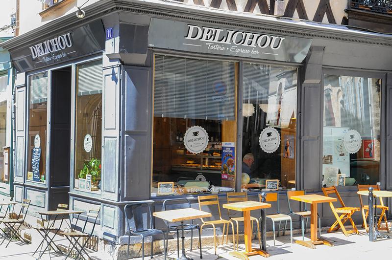 Le Délichou, sympathique adresse à Bourges ©Ad2T - E. Luciani