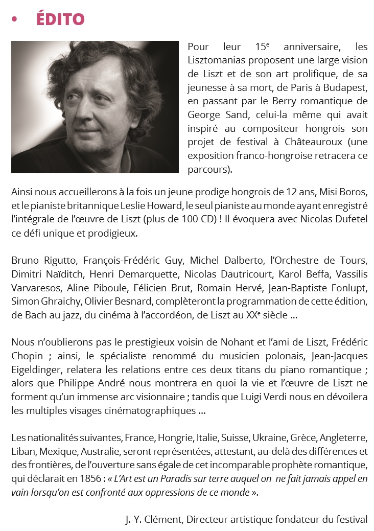 Edito de Jean-Yves Clément - DR