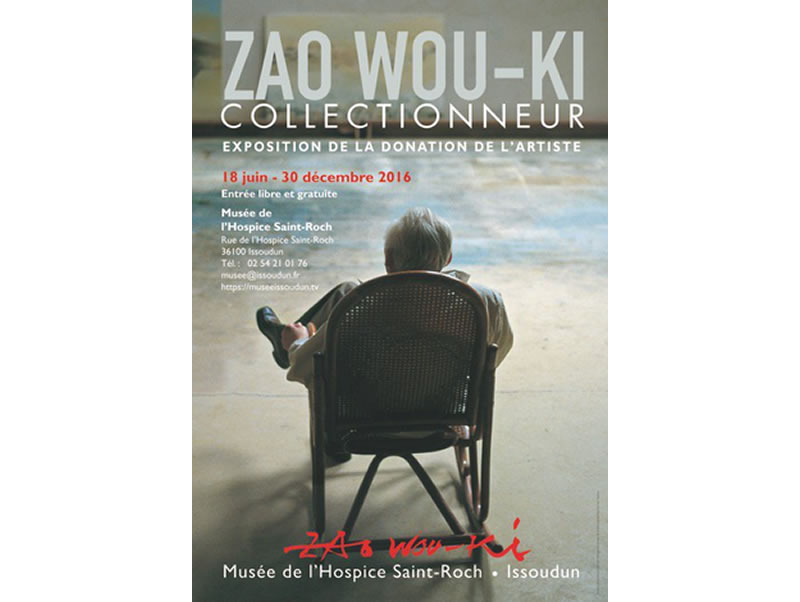 Zao Wou-Ki © Affiche exposition