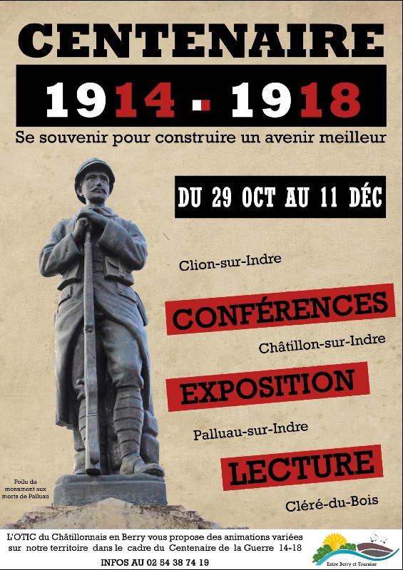 Exposition Centenaire 1914 - 1918