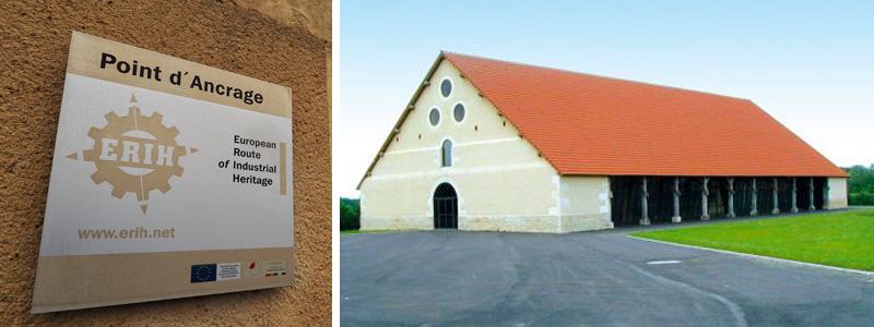 Halle de Grossouvre, point d'ancrage de la Route Européenne du Patrimoine Industriel ©Ad2T - V. Laebens