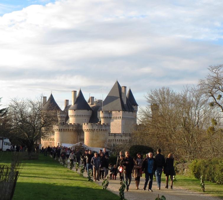 Marché de Noël au château de Chabenet - © ADT Indre