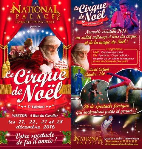 Cirque de Noël au National Palace