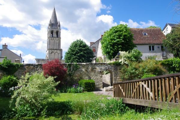 Abbaye de Déols © JM Surrand - Photoclub de Belle Isle