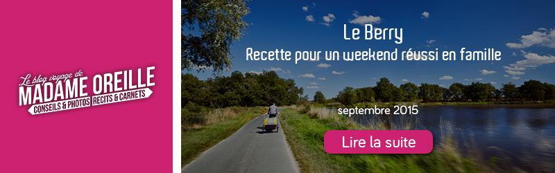 Blog de voyage - Madame Oreille - Septembre 2015