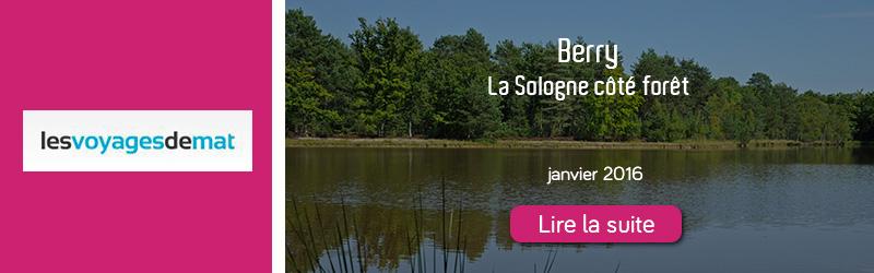 Les voyages de Mat - Sologne - janvier 2016