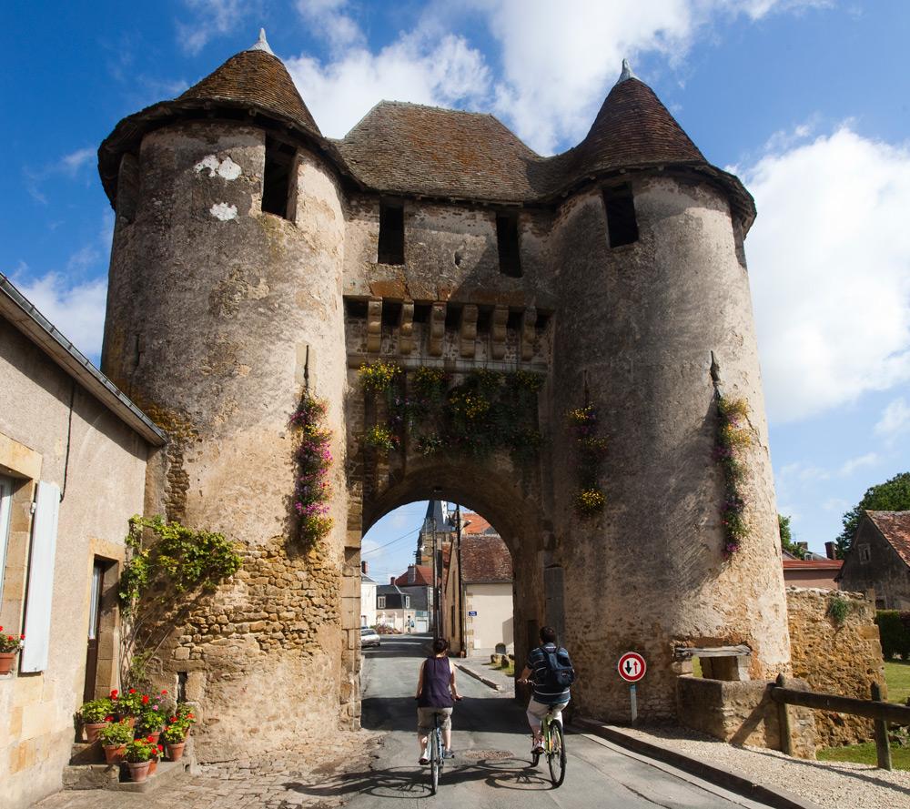 Cyclotourisme à Levroux - © Hellio et Van Ingen