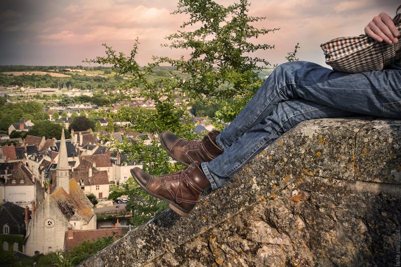 Argenton vu du haut de la ville - © Sophie Pamart