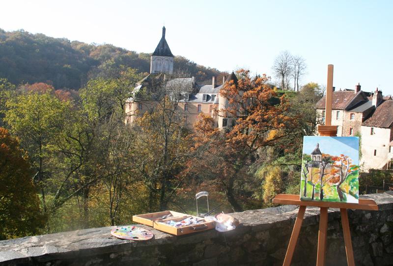 Gargilesse, village de peintres - © ADTI