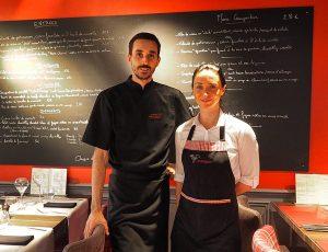 Les chefs du Restaurant Le Salignon de Vesdun