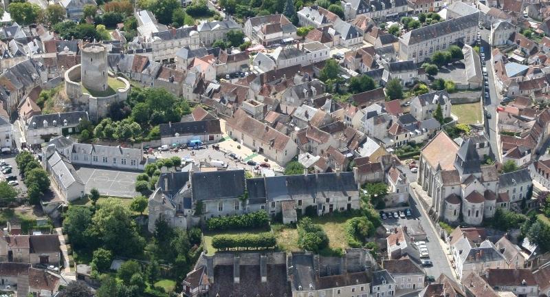Châtillon vu du ciel - © Mairie de Châtillon