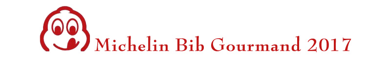 Bib gourmand Michelin 2017