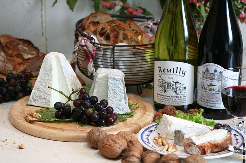 AOP AOC Vins et fromages - © ADTI du Berry