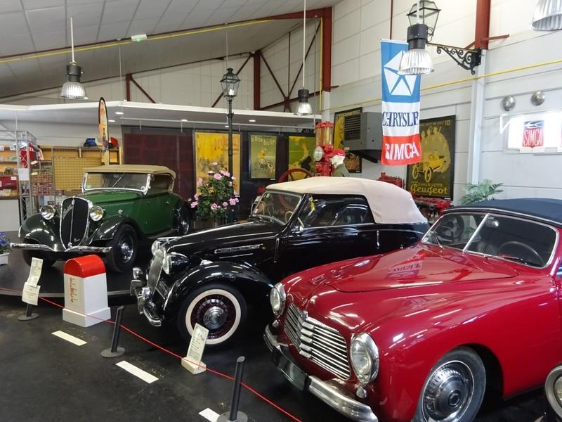 Musée de l'automobile © A.Nevière