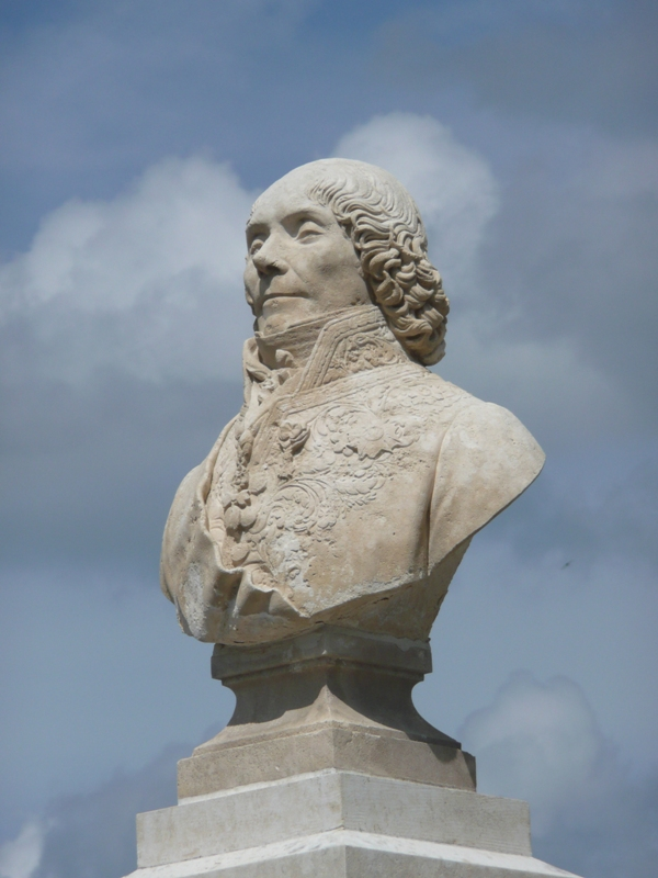 Buste de Talleyrand © A.Nevière