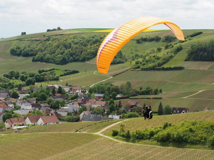 Berry improbable Parapente