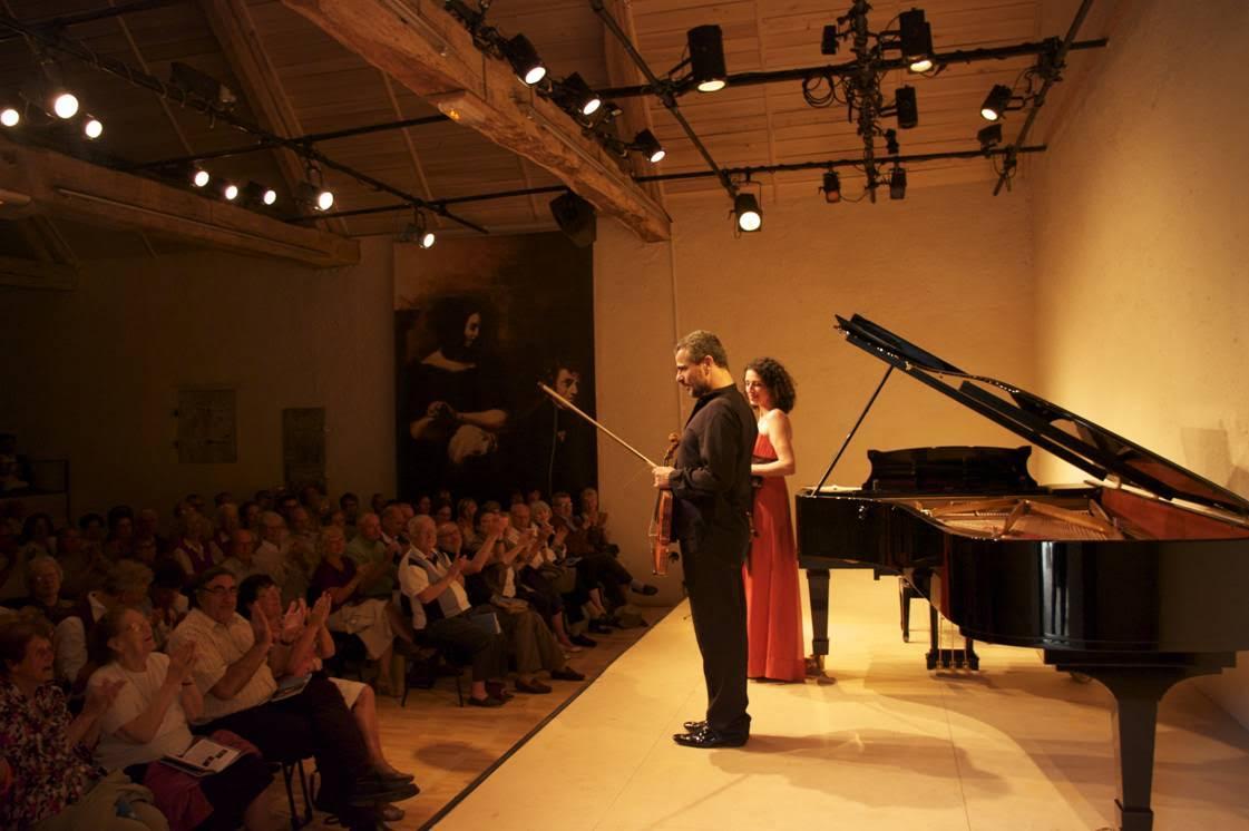 Fin de concert à la Bergerie de Nohant © Nohant Festival Chopin