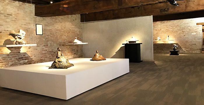 Exposition de Georges Jeanclos au Palais Jacques Coeur et à la Galerie Capazza