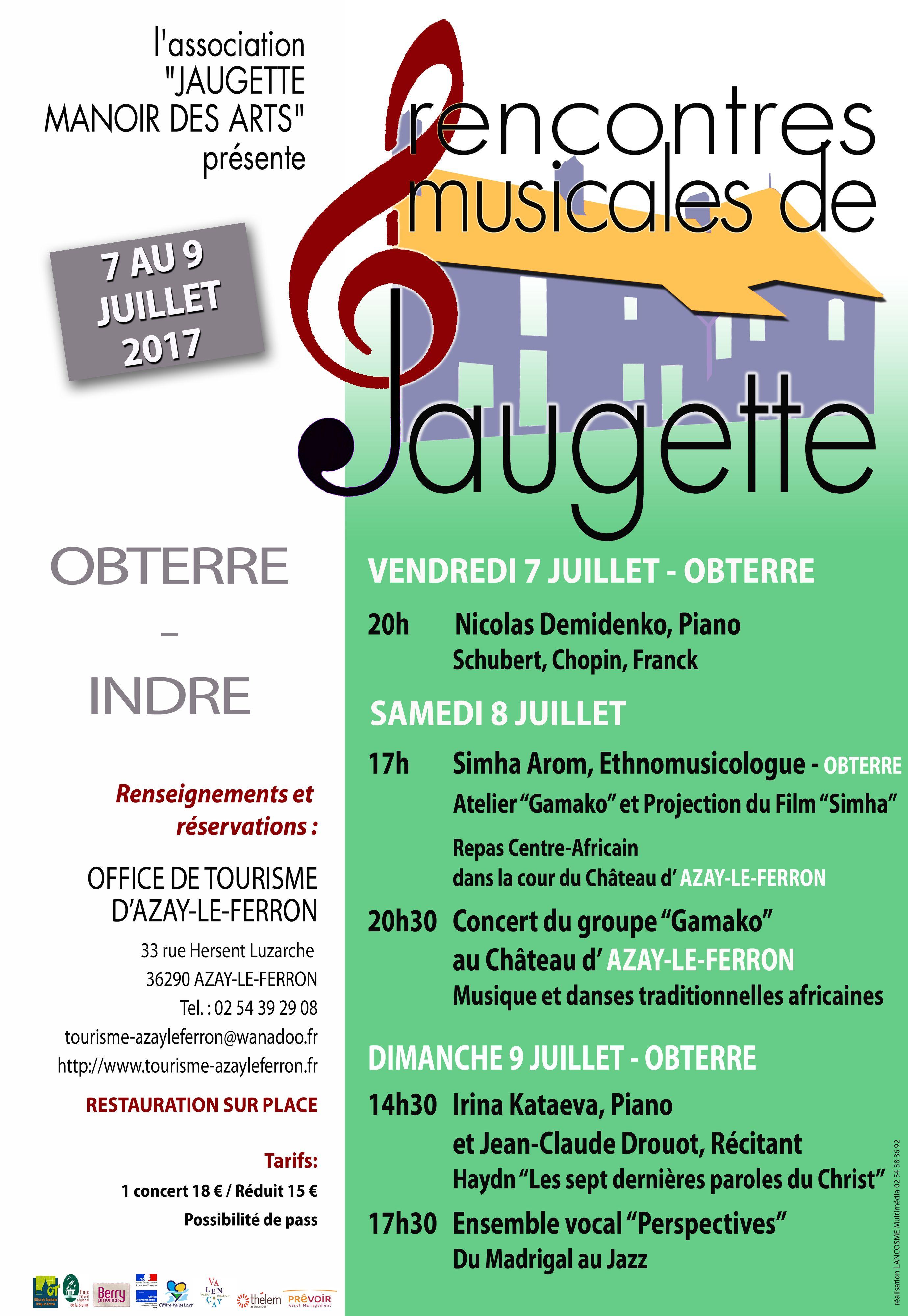 Affiche du festival © Association Jaugette