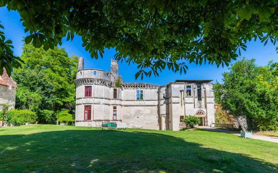 Château de Veuil - © Teddy Verneuil