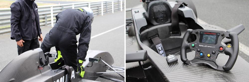 A bord de la Formule Renault d'Euroformula - © Yoann RICHARD / ADTI