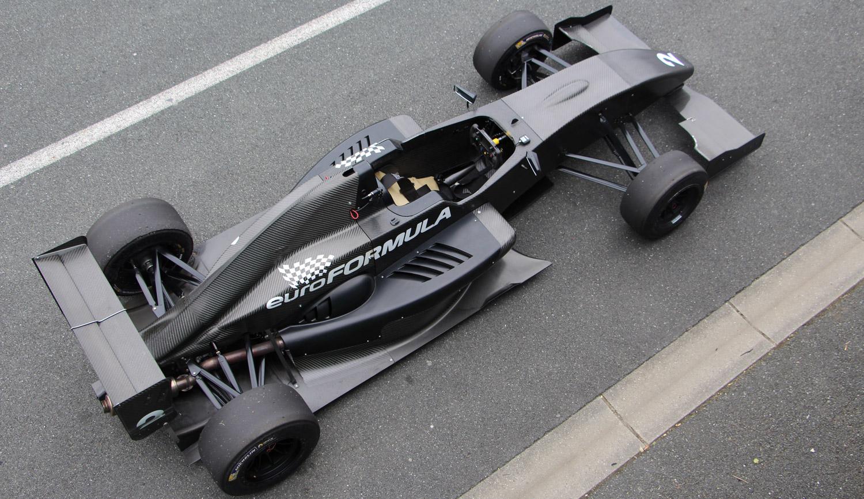 Vue de la Formule Renault 2.0 du dessus - © Yoann RICHARD / ADTI