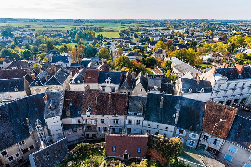 Châtillon-sur-Indre © Teddy Verneuil