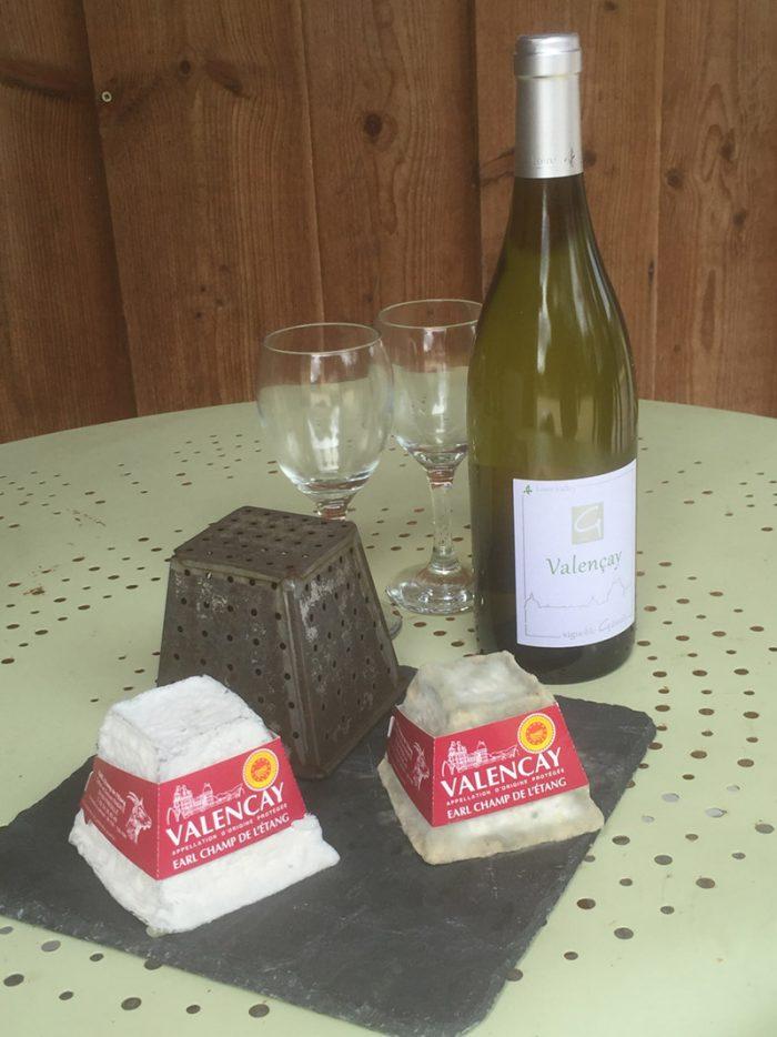 Deux fromages à deux stades différents - © S. Pascal-Mousselard