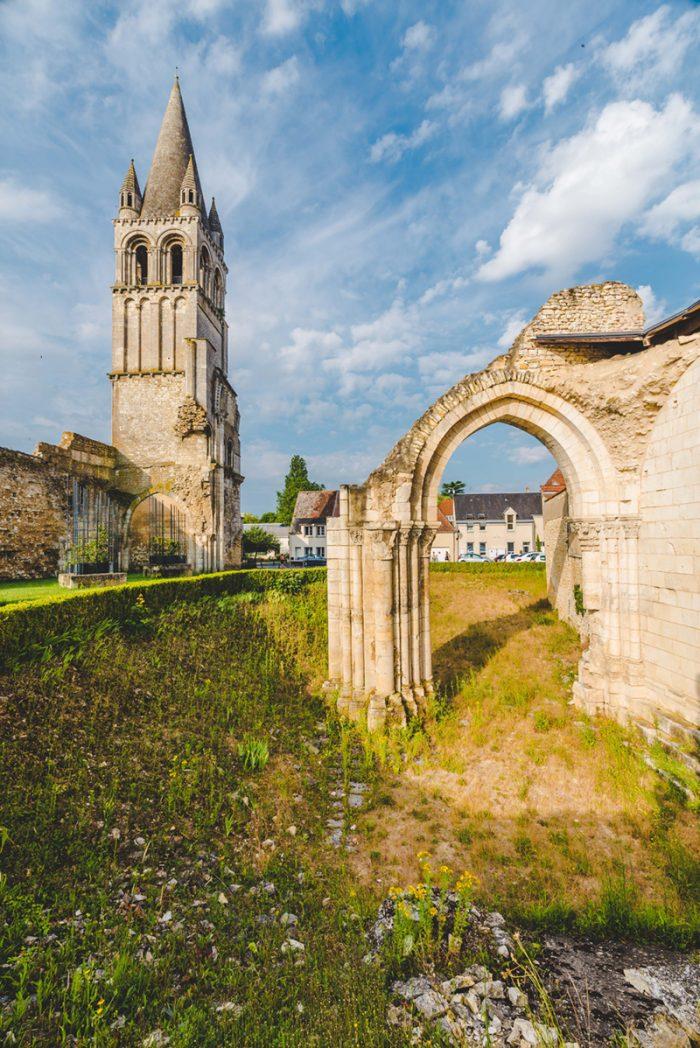 Abbaye de Déols - © Teddy Verneuil