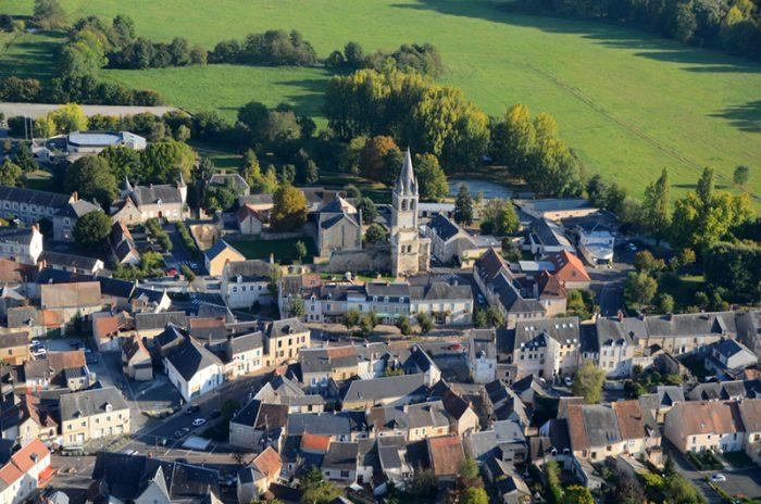 Abbaye de Déols - © J. Zucchet