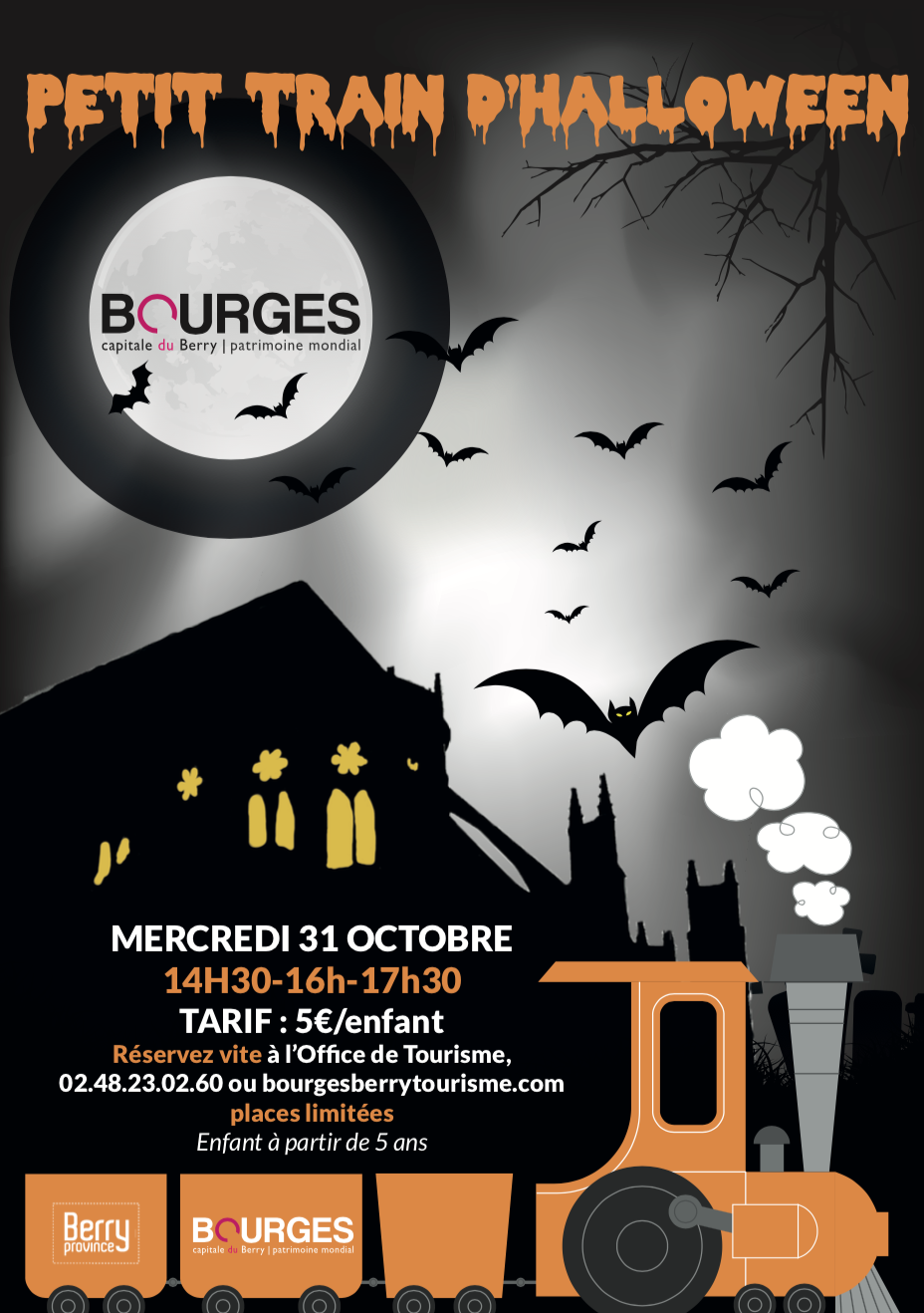 Train halloween Bourges