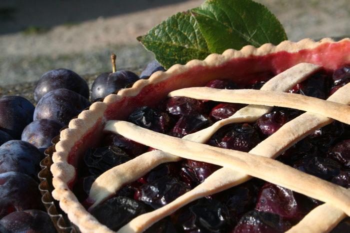 Tarte aux barriaux, prunes, spécialité berrichonne - © ADTI
