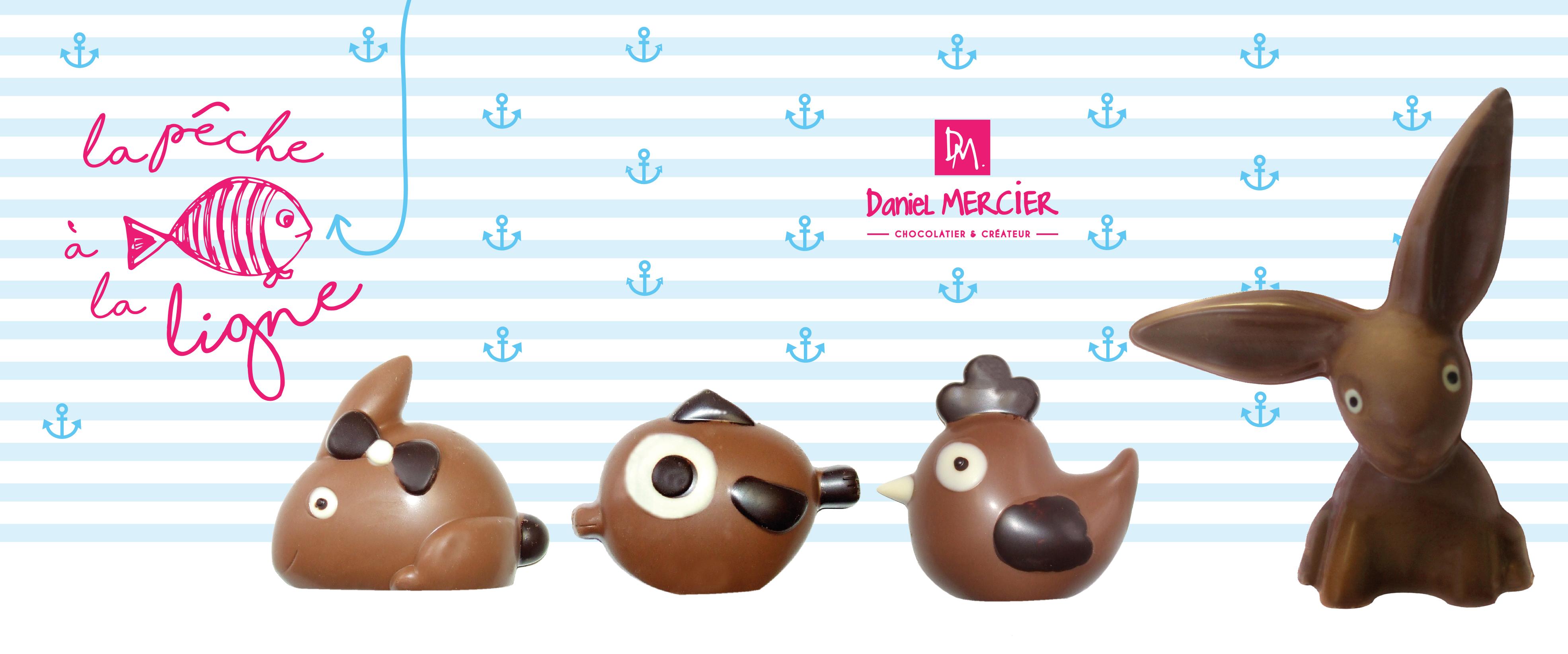 Chocolaterie Mercier Pâques