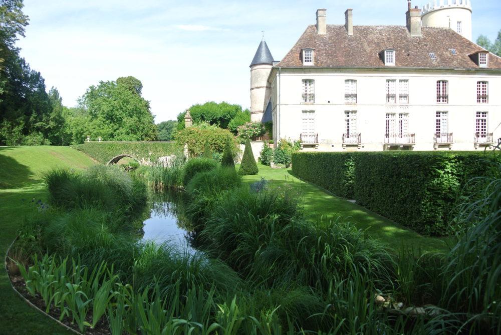 Parc et chateau de Pesselières Berry