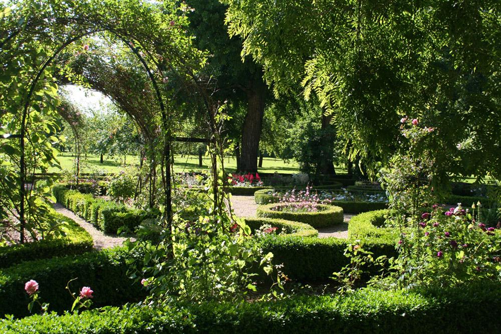 Jardin de la maison de George Sand - © ADTI