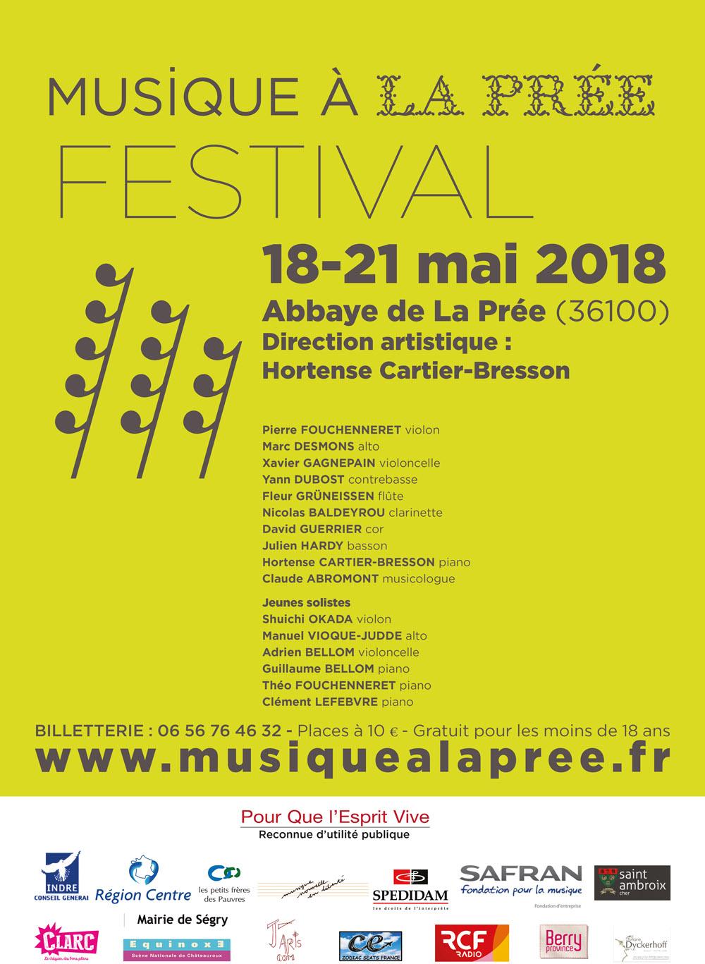Festival Musique à la Prée