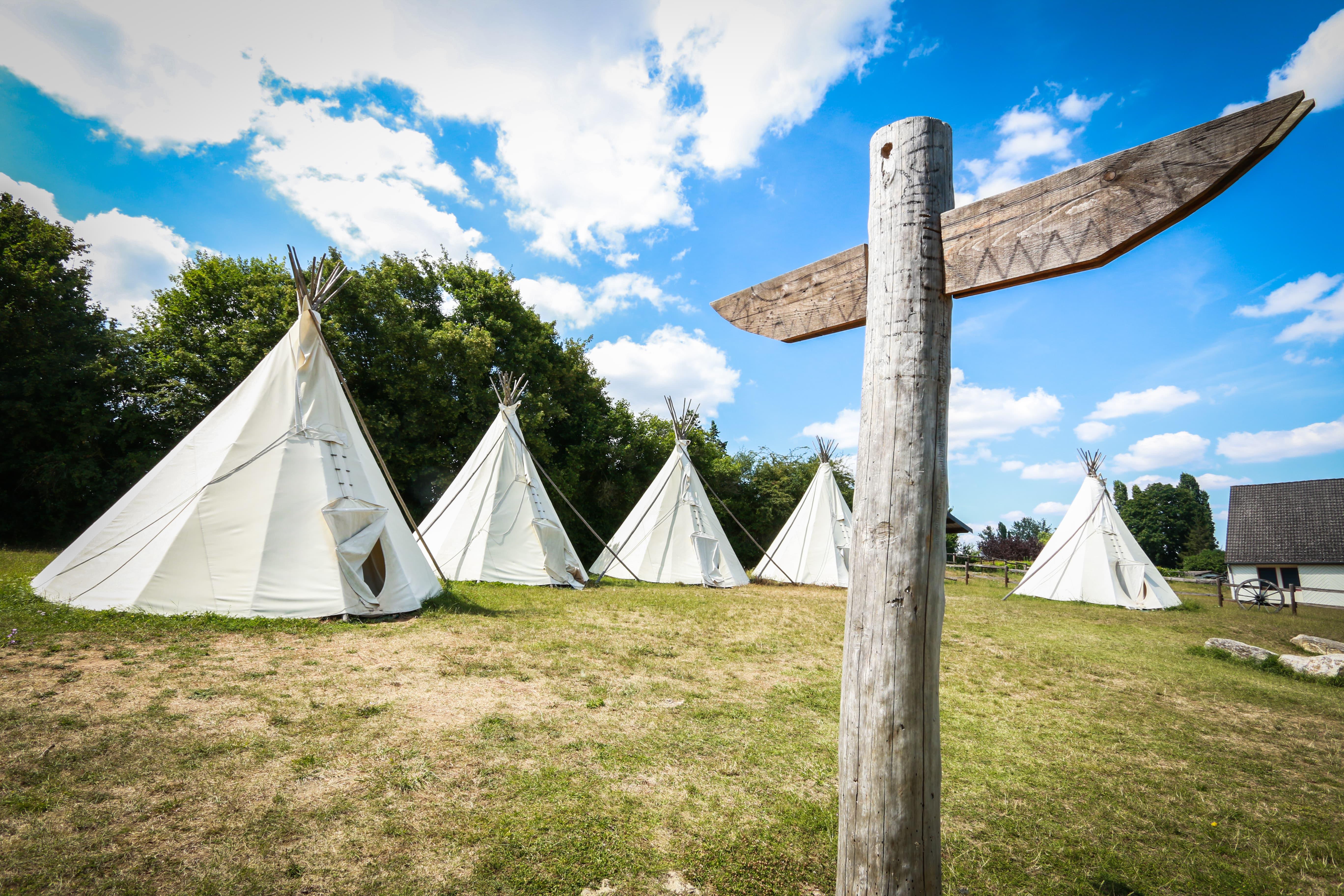 Tipis Village de loisirs de Goule - (c) Ad2t