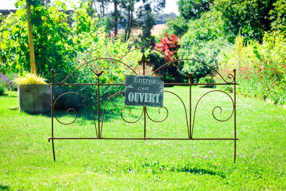 Marie marcat l engagement jardinier r compens berry for Jardins de jardiniers