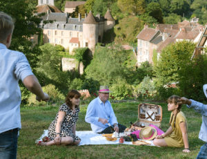 En famille à Gargilesse - © Thierry Vincent