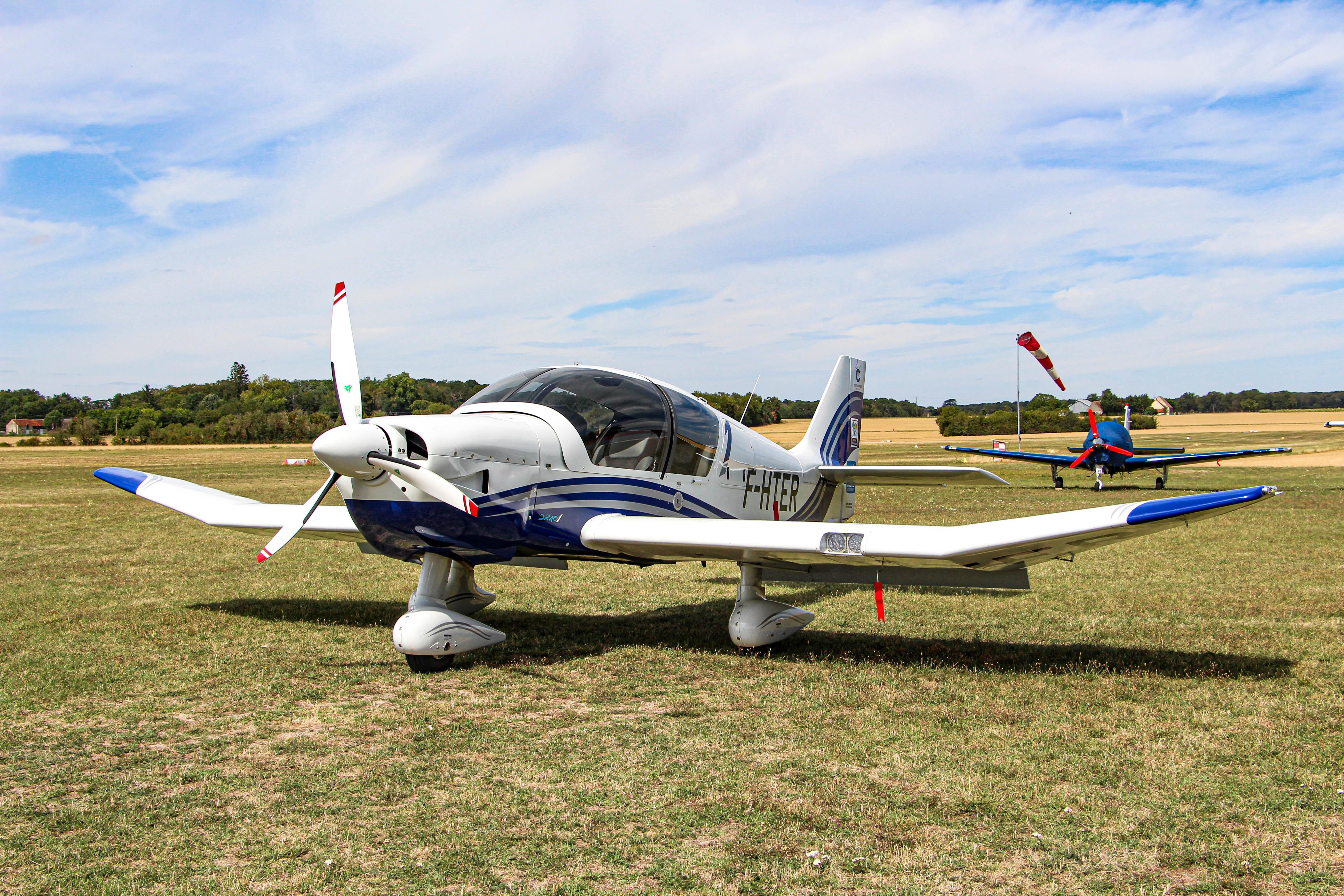 Le DR401 de l'aéroclub Chateauoux-Villers ©A²I